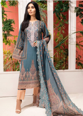 Iman by Regalia Textiles Embroidered Lawn Unstitched 3 Piece Suit RG20-IE2 4 - Summer Collection