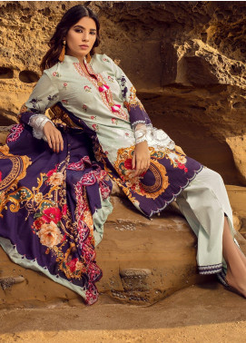 Regalia Textiles Embroidered Lawn Unstitched 3 Piece Suit RG20IE 2 - Summer Collection