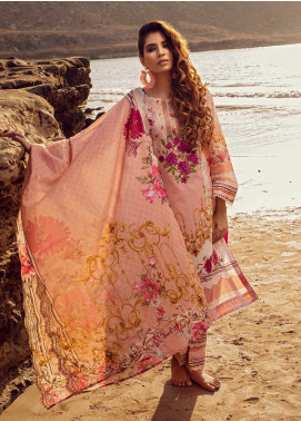 Regalia Textiles Embroidered Lawn Unstitched 3 Piece Suit RG20IE 3-B - Summer Collection