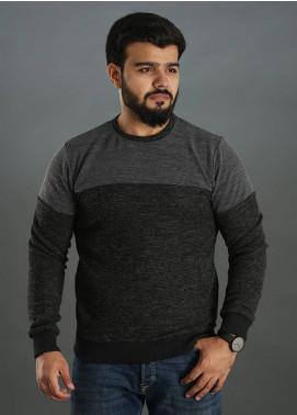 Sanaulla Exclusive Range Jersey Round Neck Men T-Shirts - Grey SAM18TS 08