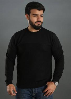 Sanaulla Exclusive Range Jersey Round Neck Men T-Shirts - Black SAM18TS 10