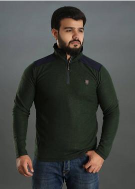 Sanaulla Exclusive Range Jersey Full Sleeves Men Tees - Green SAM18TS 14