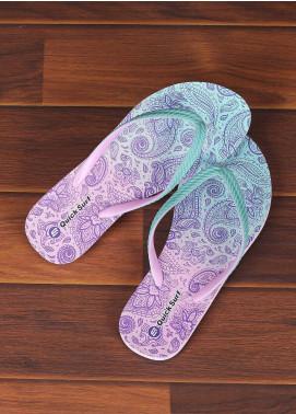 Rubber Flip Flops for Ladies 2515 Green