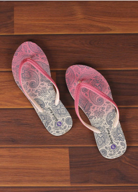 Rubber Ladies Flip Flops 2515 Pink