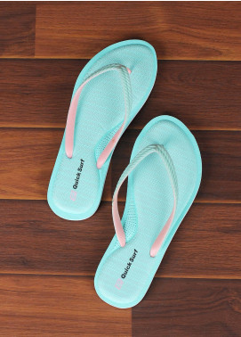 Rubber Flip Flops for Ladies 2577 Green