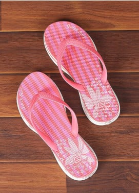 Rubber Ladies Flip Flops 2810 Pink