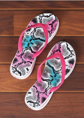 Rubber Ladies Flip Flops 2811 Pink