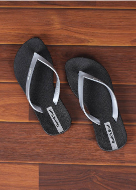 Rubber Flip Flops for Ladies 2813 Grey