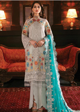 Imrozia by Serene Premium Embroidered Chiffon Unstitched 3 Piece Suit IMP20SL 108 Glimmering Maya - Luxury Collection