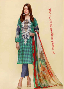 Infinity by Riaz Arts Embroidered Lawn Unstitched 3 Piece Suit IRA20L 14 A - Summer Collection