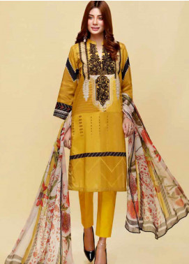 Infinity by Riaz Arts Embroidered Lawn Unstitched 3 Piece Suit IRA20L 16 B - Summer Collection