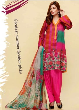 Infinity by Riaz Arts Embroidered Lawn Unstitched 3 Piece Suit IRA20L 17 C - Summer Collection