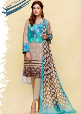 Infinity by Riaz Arts Embroidered Lawn Unstitched 3 Piece Suit IRA20L 18 A - Summer Collection