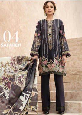 IRIS by Jazmin Embroidered Lawn Unstitched 3 Piece Suit JZ20I 4 - Summer Collection