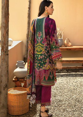 IRIS VIRSA by Jazmin Embroidered Linen Unstitched 3 Piece Suit JZ20IV 01 Shabab - Winter Collection