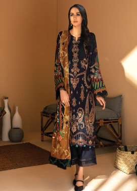 IRIS VIRSA by Jazmin Embroidered Linen Unstitched 3 Piece Suit JZ20IV 09 Miras - Winter Collection