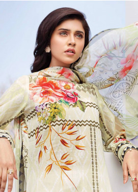 Iris Jazmin Embroidered Lawn Unstitched 3 Piece Suit IRJ18L 04 - Festive Collection