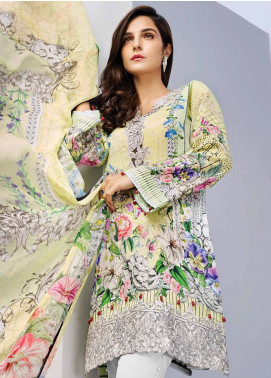 Iris Jazmin Embroidered Lawn Unstitched 3 Piece Suit IRJ18L 11 - Festive Collection