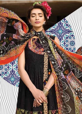 Ittehad Textiles Embroidered Lawn Unstitched 3 Piece Suit IT18L WILD PLUM A - Spring / Summer Collection