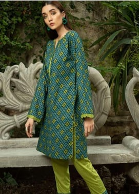Ittehad Textiles Printed Cotton Unstitched 2 Piece Suit ITD20FC 2110A - Summer Collection