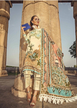 Ittehad Textiles Embroidered Lawn Unstitched 3 Piece Suit ITE19-L2 CARNATION - Summer Collection