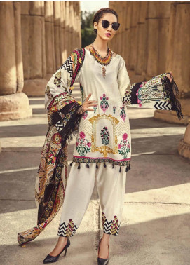 Ittehad Textiles Embroidered Lawn Unstitched 3 Piece Suit ITE19-L2 CELOSIA - Summer Collection