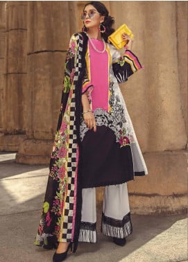 Ittehad Textiles Embroidered Lawn Unstitched 3 Piece Suit ITE19-L2 DIANTHUS - Summer Collection