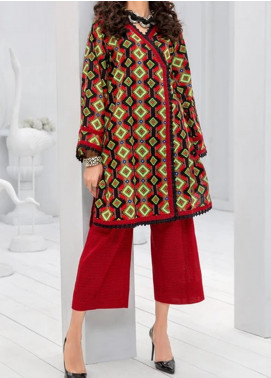 Ittehad Textiles Printed Khaddar Unstitched 2 Piece Suit ITD20K 1811A - Winter Collection