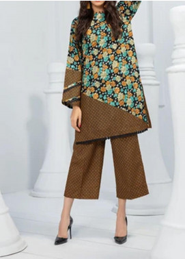 Ittehad Textiles Printed Khaddar Unstitched 2 Piece Suit ITD20K 1813B - Winter Collection