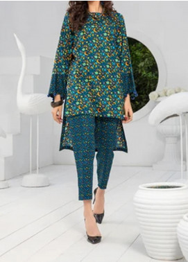 Ittehad Textiles Printed Khaddar Unstitched 2 Piece Suit ITD20K 1814B - Winter Collection