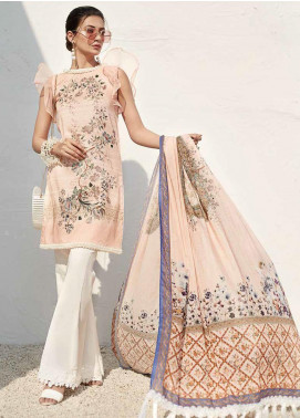 Ittehad Textiles Sarang Printed Lawn Unstitched 3 Piece Suit ITD20SR BALLET SLIPPER - Spring / Summer Collection