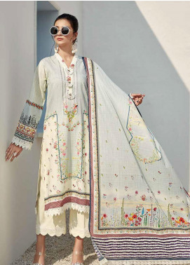 Ittehad Textiles Sarang Printed Lawn Unstitched 3 Piece Suit ITD20SR CALLA LILY - Spring / Summer Collection