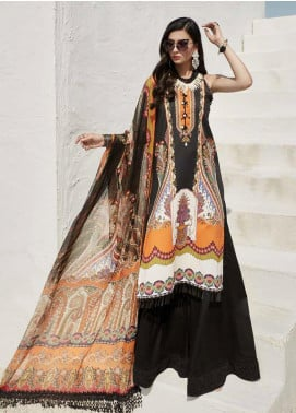 Ittehad Textiles Sarang Printed Lawn Unstitched 3 Piece Suit ITD20SR CARNATION - Spring / Summer Collection