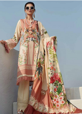 Ittehad Textiles Sarang Printed Lawn Unstitched 3 Piece Suit ITD20SR DAFFODIL - Spring / Summer Collection