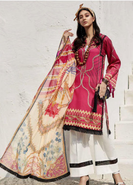 Ittehad Textiles Sarang Printed Lawn Unstitched 3 Piece Suit ITD20SR IRIS - Spring / Summer Collection