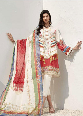 Ittehad Textiles Sarang Printed Lawn Unstitched 3 Piece Suit ITD20SR PRIMROSE - Spring / Summer Collection
