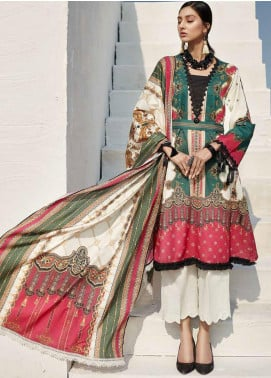 Ittehad Textiles Sarang Printed Lawn Unstitched 3 Piece Suit ITD20SR SEAWEED - Spring / Summer Collection