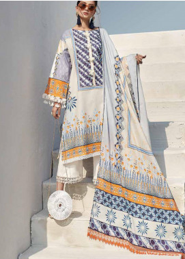 Ittehad Textiles Sarang Printed Lawn Unstitched 3 Piece Suit ITD20SR SWEET PEA - Spring / Summer Collection