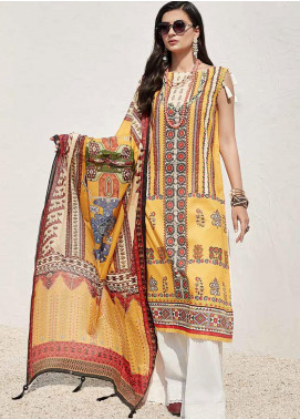 Ittehad Textiles Sarang Printed Lawn Unstitched 3 Piece Suit ITD20SR TUSCAN SUN - Spring / Summer Collection