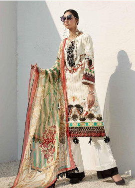 Ittehad Textiles Sarang Printed Lawn Unstitched 3 Piece Suit ITD20SR WILD GINGER - Spring / Summer Collection