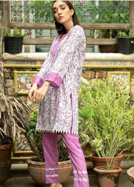 Ittehad Textiles Printed Cotton Unstitched 2 Piece Suit ITD20FC 2116-A - Summer Collection
