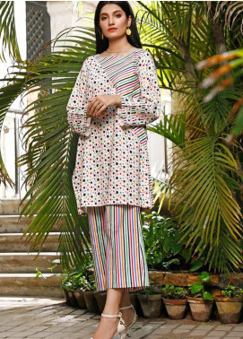 Ittehad Textiles Printed Cotton Unstitched 2 Piece Suit ITD20FC 2118-A - Summer Collection