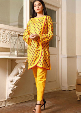 Ittehad Textiles Printed Cotton Unstitched 2 Piece Suit ITD20FC 2120-A - Summer Collection