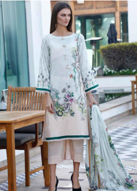 Ittehad Textiles Printed Lawn Unstitched 3 Piece Suit ITD20DL 007 SURFS UP - Summer Collection