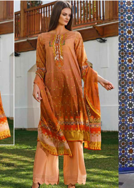 Ittehad Textiles Printed Lawn Unstitched 3 Piece Suit ITD20DL 009 PREP N PRIME - Summer Collection