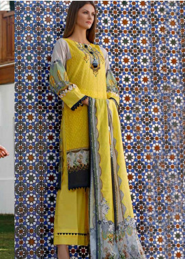 Ittehad Textiles Printed Lawn Unstitched 3 Piece Suit ITD20DL 010 LEMON TART - Summer Collection