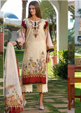 Ittehad Textiles Printed Lawn Unstitched 3 Piece Suit ITD20DL 014 CHERISHED MOMENTS - Summer Collection