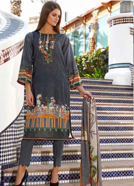 Ittehad Textiles Printed Lawn Unstitched 3 Piece Suit ITD20DL 016 FOREST STRETCH - Summer Collection