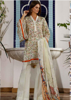 Ittehad Textiles Printed Lawn Unstitched 3 Piece Suit ITD20DL 019 MARIGOLD MAGIC - Summer Collection