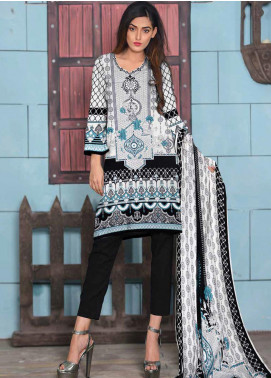 Ittehad Textiles Printed Lawn Unstitched 3 Piece Suit ITD20CL 51B - Summer Collection